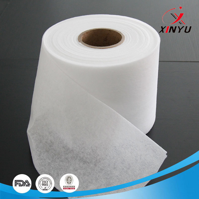 Breathable Thermal Bond Hot Air Cotton For Face Masks KN94