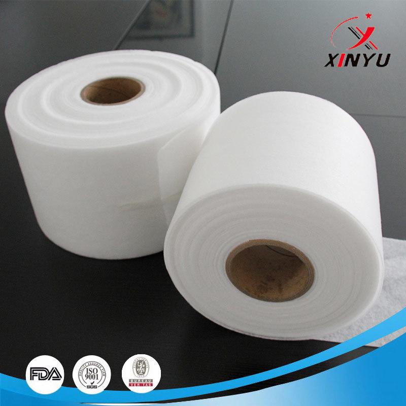 100% ES Fiber Hot Air Through Bond Non Woven Fabric For KN95