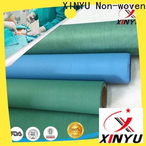 XINYU Non-woven Reliable laminated non woven fabric manufacturer Suppliers for bed sheet