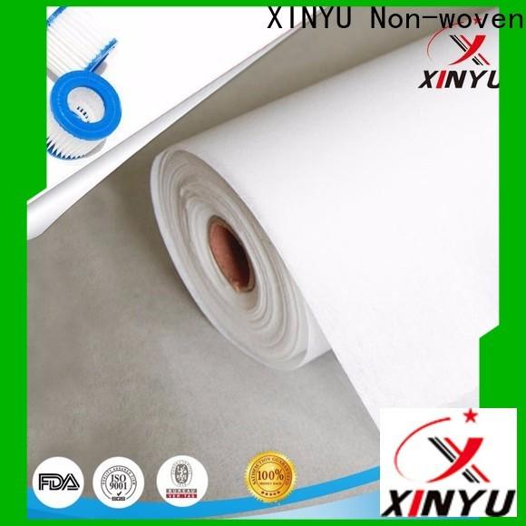 XINYU Non-woven non woven filter fabric Supply for air filtration