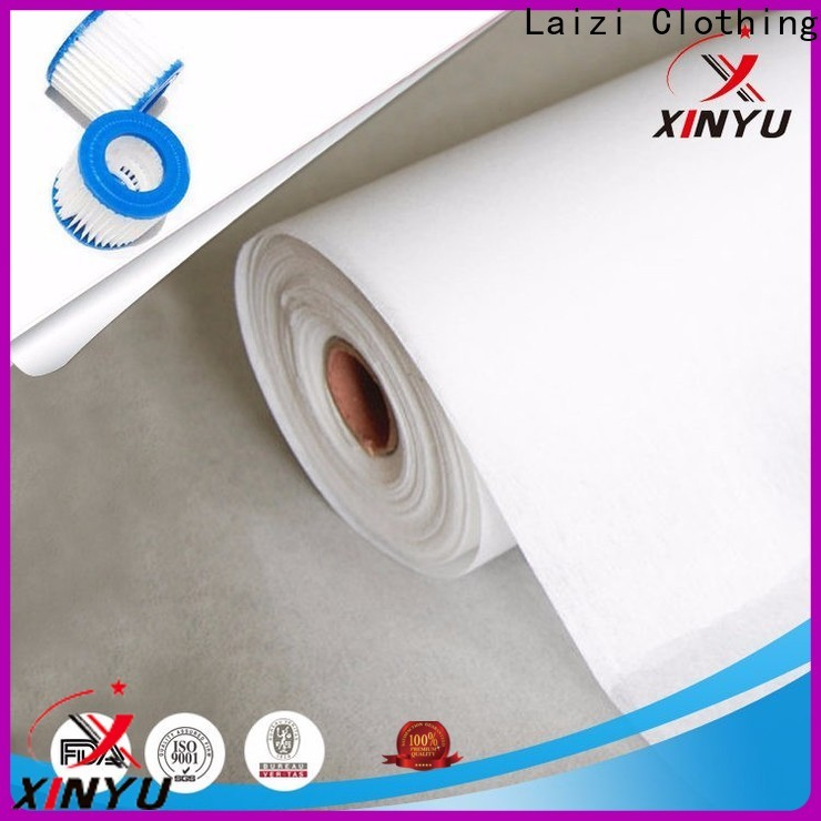 XINYU Non-woven High-quality air filter cloth material for business for air filtration media