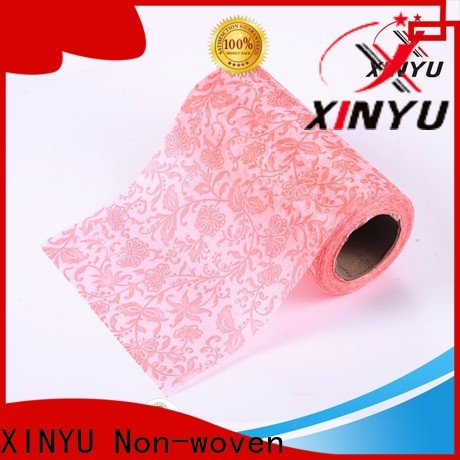 XINYU Non-woven non woven flower wrapping paper manufacturers for flowers packaging