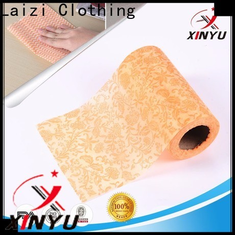 XINYU Non-woven High-quality nonwoven cleaning cloth company for kitchen wipes