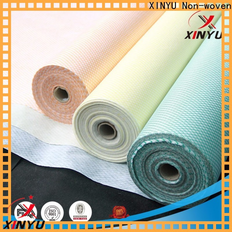 XINYU Non-woven Customized non woven wipes manufacturer factory for foods processing industry