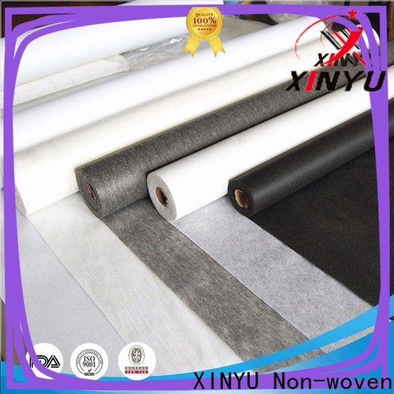 XINYU Non-woven Wholesale non woven interlining fabric Supply for cuff interlining