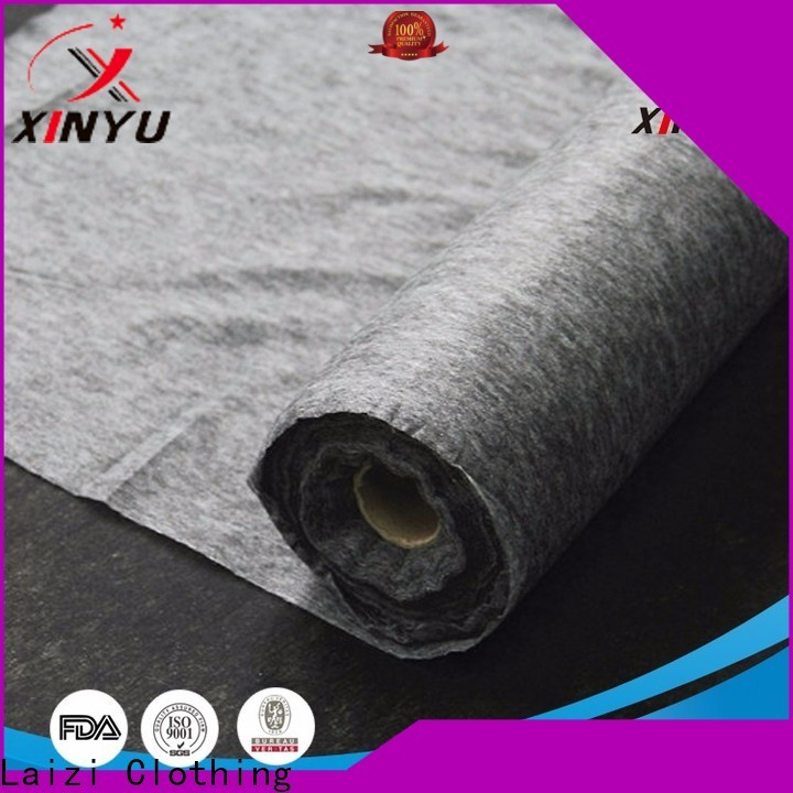XINYU Non-woven non woven fusible interfacing for business for dress