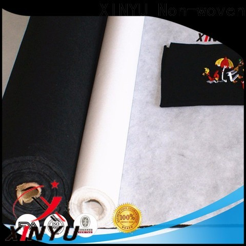 XINYU Non-woven Reliable embroidery backing paper for business for embroidery