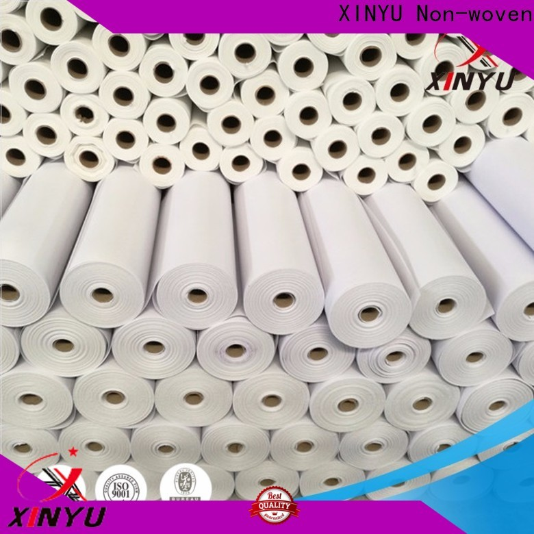 XINYU Non-woven Best non-woven adhesives Suppliers for embroidery paper