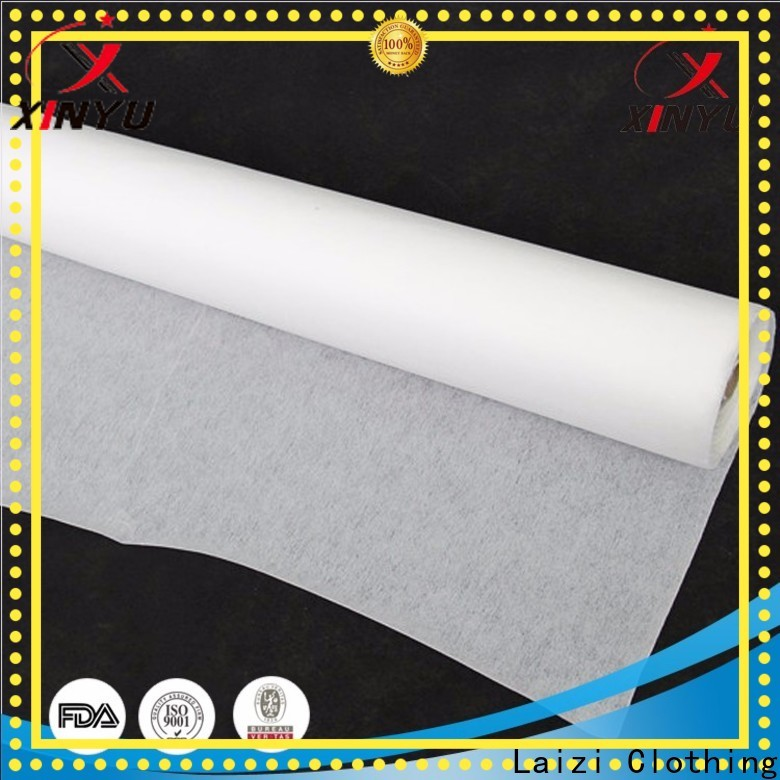 XINYU Non-woven nonwoven suppliers Suppliers for cuff interlining