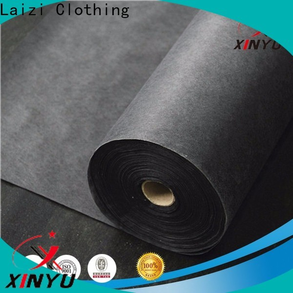 XINYU Non-woven Customized fused interlining manufacturers for collars