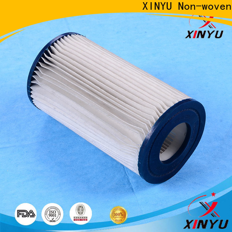 XINYU Non-woven paper water filter factory for process water