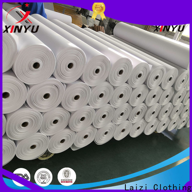 Top interlining non woven factory for collars