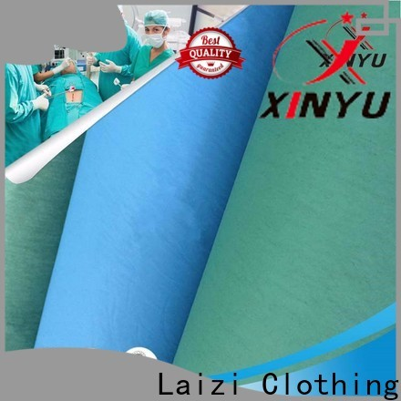 XINYU Non-woven difference between woven and nonwoven fabric company for medical