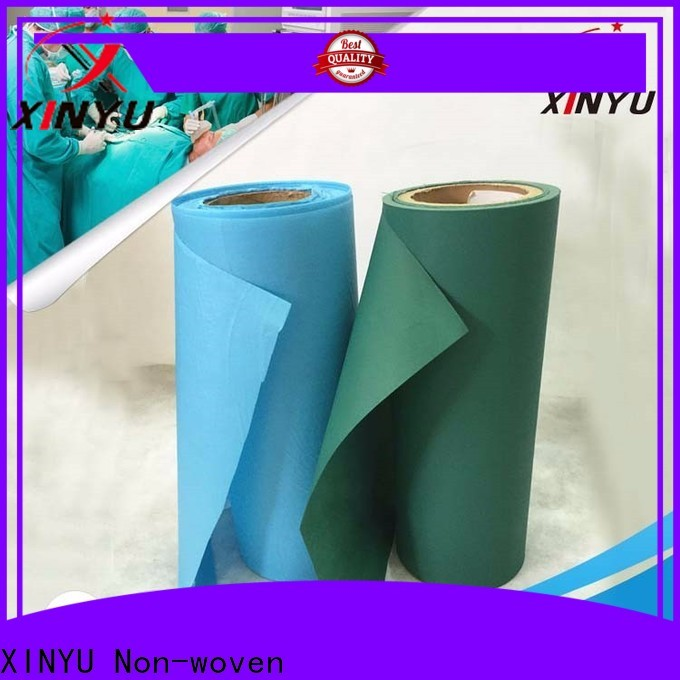 Excellent non woven polyester fabric Suppliers for protective gown