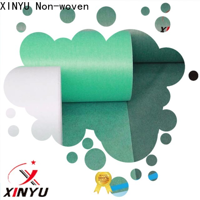Best types of non woven fabrics Supply for bed sheet