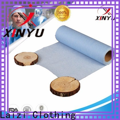 XINYU Non-woven Best types of non woven fabrics manufacturers for bed sheet