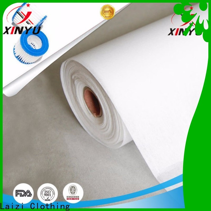 XINYU Non-woven Excellent non woven filtration Supply for particulate air filter