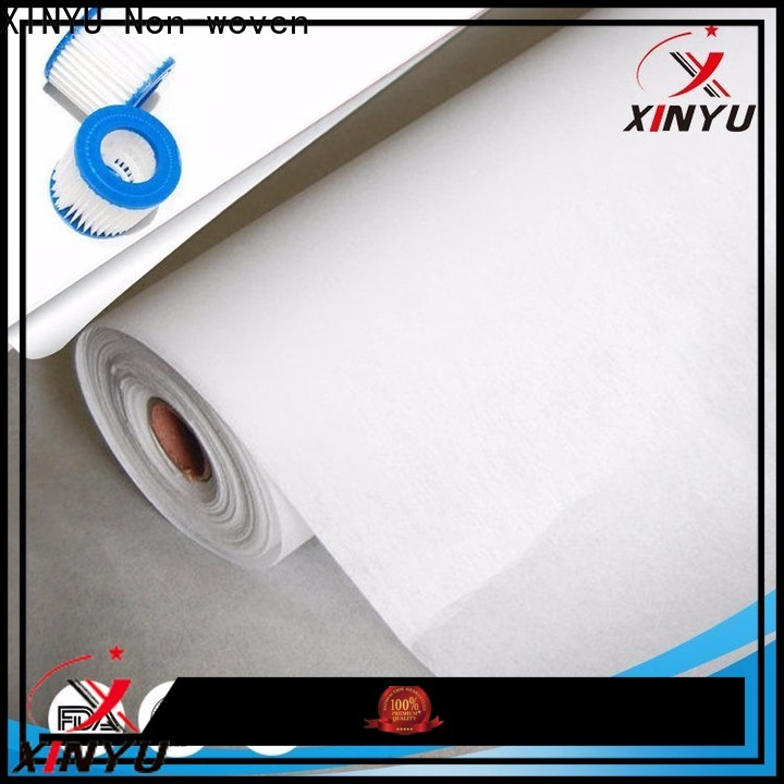 XINYU Non-woven Top air filter fabric Suppliers for air filtration media