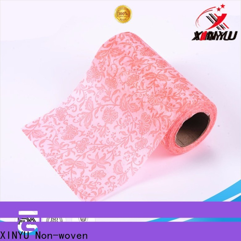 XINYU Non-woven Reliable flower bouquet wrapping paper manufacturers for gift packaging