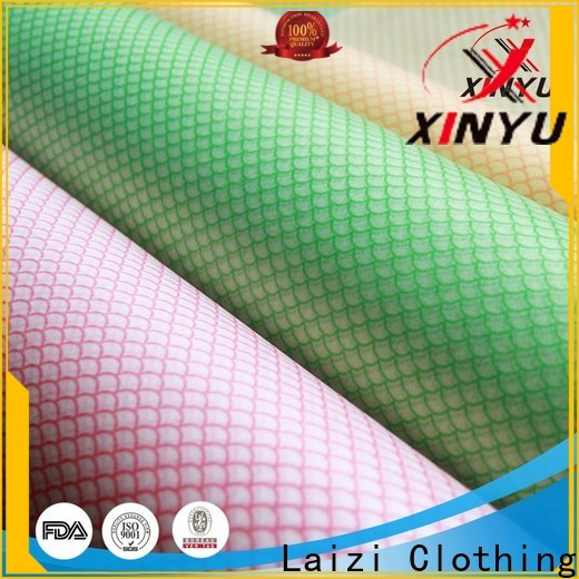 XINYU Non-woven Latest nonwoven cleaning cloth manufacturers