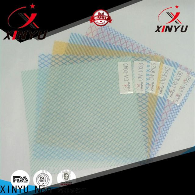 XINYU Non-woven Wholesale non woven wiper factory