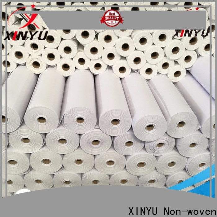 XINYU Non-woven Excellent non woven fusible interlining factory for embroidery paper