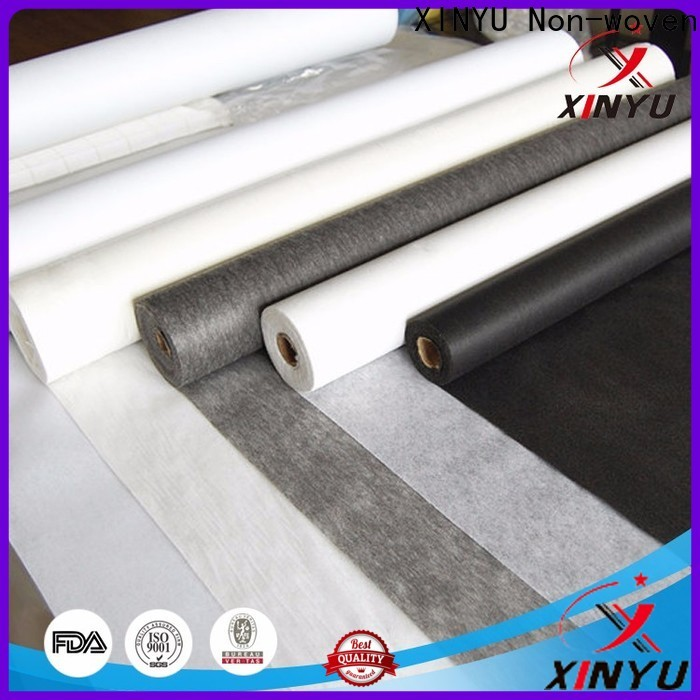 XINYU Non-woven Best non woven fabric manufacturers for garment