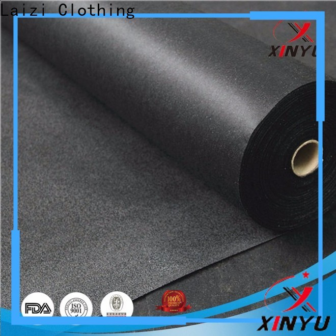 XINYU Non-woven Excellent non woven fusible interlining Supply for cuff interlining