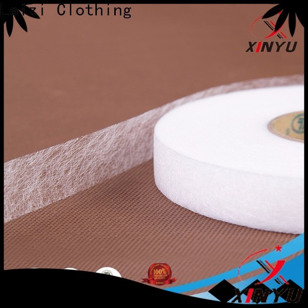 XINYU Non-woven non woven interlining fabric for business for embroidery paper