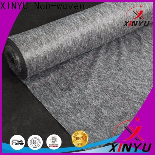 XINYU Non-woven fusible nonwoven interlining factory for garment