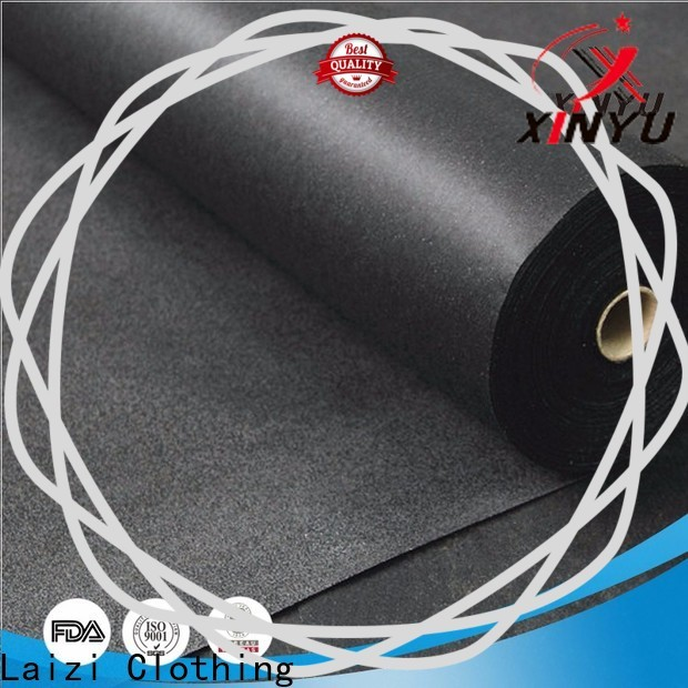 XINYU Non-woven non woven fusible interlining company for embroidery paper