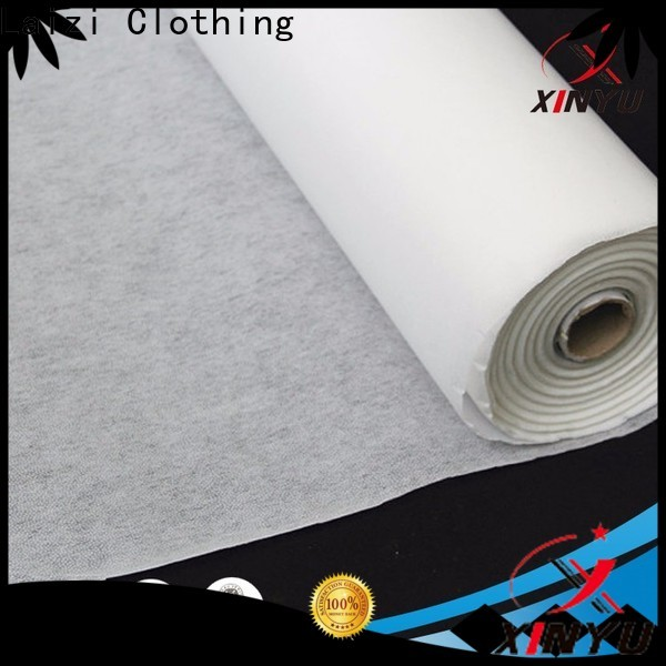 XINYU Non-woven fusible lining fabric for business for embroidery paper