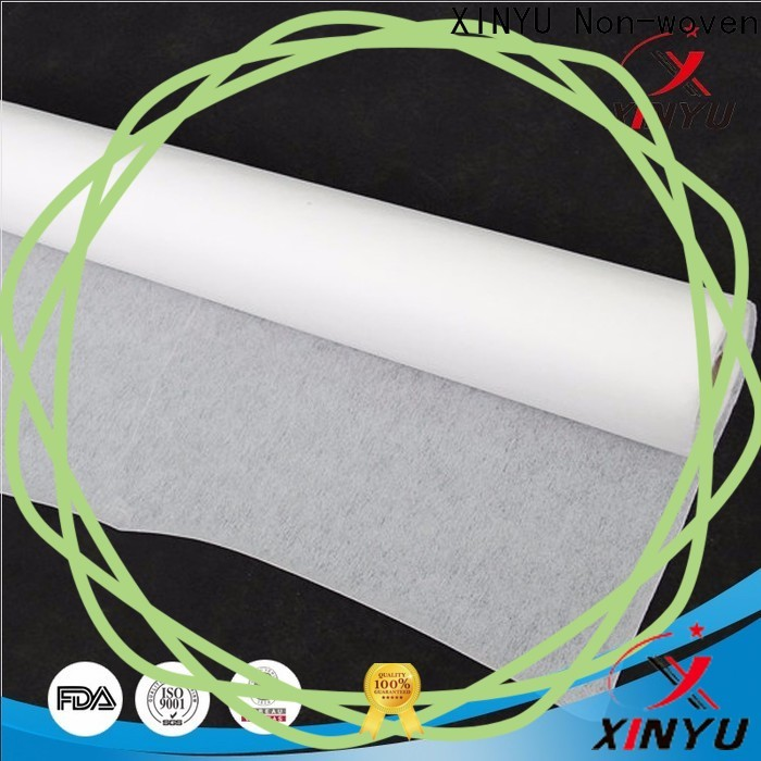 XINYU Non-woven non-woven fabric interlining manufacturers for embroidery paper