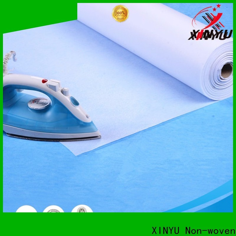 XINYU Non-woven Wholesale nonwoven interlining fabric company for collars