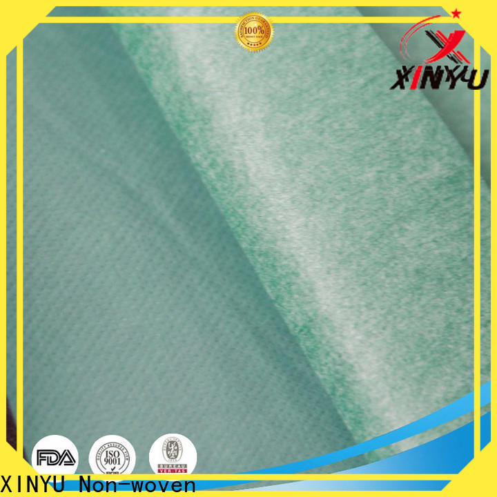 XINYU Non-woven difference between woven and nonwoven fabric manufacturers for protective gown