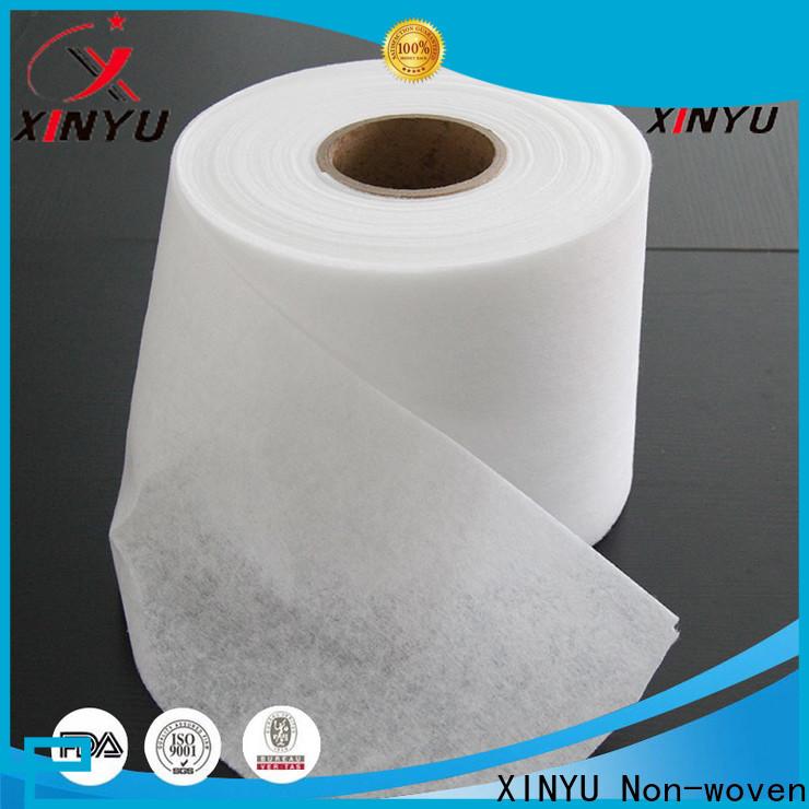 XINYU Non-woven Customized hot air non woven fabric factory for sanitary napkins